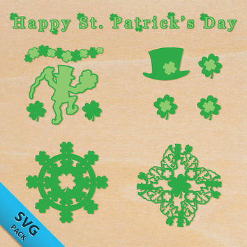 St. Patrick's Day SVG Pack