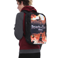 Attack On Titan Key Art Backpack