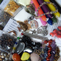 Wicca Supplies Witchcraft - DREAM PSYCHIC MEDITATION - Incense Herbs Charms Stones Pagan Supplies
