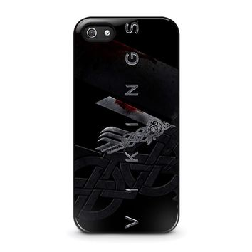 vikings 1 iphone 5 5s se case cover  number 1