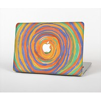 The Hand-Painted Circle Strokes Skin Set for the Apple MacBook Air 13""