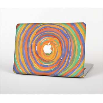 The Hand-Painted Circle Strokes Skin Set for the Apple MacBook Air 11""