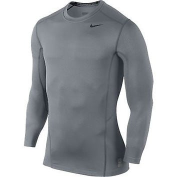 Nike Men's Pro Combat Hyperwarm Lite Fitted Shirt 618984