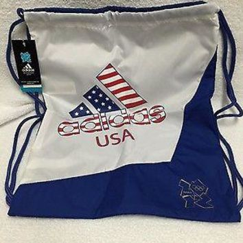 Official London 2012 Summer Olympics Adidas USA Cynch Bag Backpack NEW HTF Rio