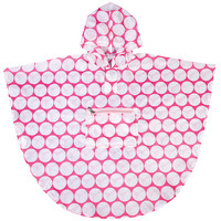 Big Dot Pink & White Poncho (6-12) - 80278