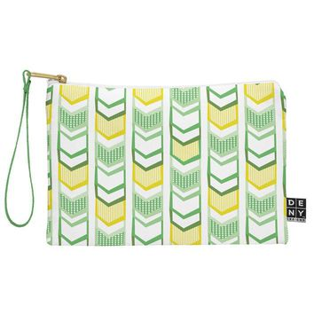 Heather Dutton Right Direction Lemon Lime Pouch