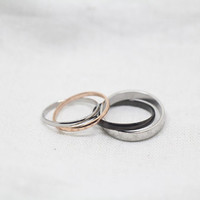 2pcs-Free Engraving, promise ring,couple Rings, Lovers rings