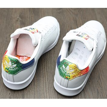 Adidas  Men & Women Casual Sport Print Adidas Stan Smith Shoe