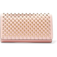 Christian Louboutin - Macaron spiked leather wallet