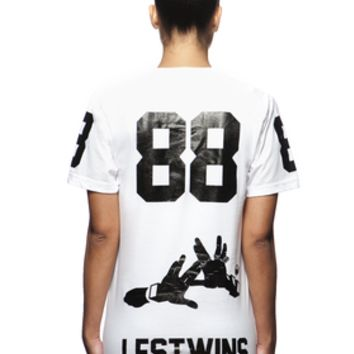 BBP - Blackboyplace: 88 LesTwins White T-shirt
