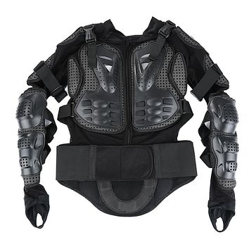 New Professional Motorcycle Motocross Racing Full Body Protective Armor Jacket Gear Protect Spine Chest Back/Red S~XXXL Size