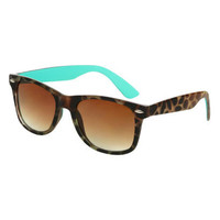 Tort Mint Wayfarer Sunglasses | Shop Accessories at Wet Seal