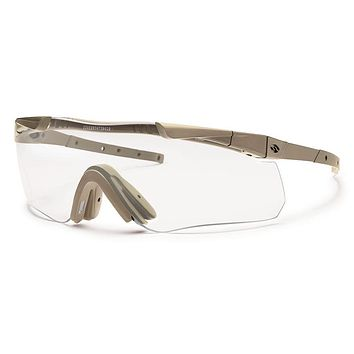 Smith - Aegis Echo II Asian Fit Tan 499 Sunglasses / Clear Lenses