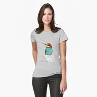 'Brightly Colored European Bee Eater Vector' T-Shirt by taiche