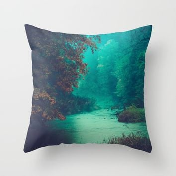 Sanctuary Throw Pillow by Faded  Photos