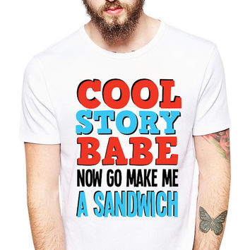 Funny TShirt - Make Me A Sandwich - Male Chauvinism - Sexism - Chauvinist Pig - Funny T Shirt - Funny T Shirts - Prejudice - Inequality