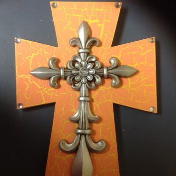 SALE20%OFF Spring Cross Decor
