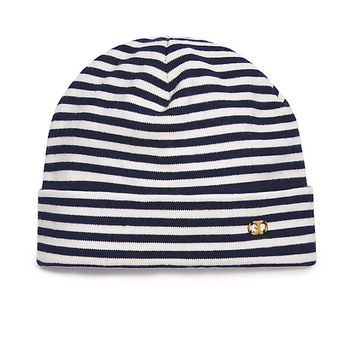 Tory Burch Gemini Link Slim-stripe Hat