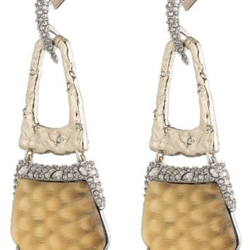 Alexis Bittar Lucite® Crystal Accent Drop Earrings | Nordstrom
