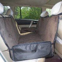 Waterproof Pet Dog Travel Hammock Car Back Seat Cover