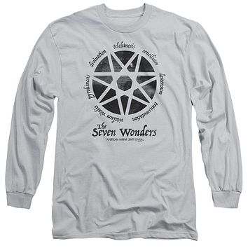 American Horror Story - Seven Wonders Long Sleeve Adult 18/1