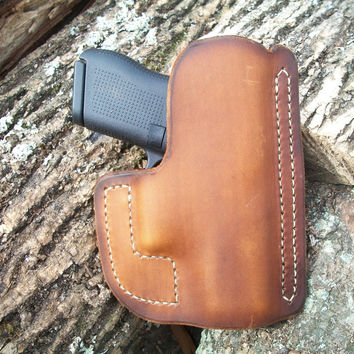 Brown Pocket Holster / Glock 43