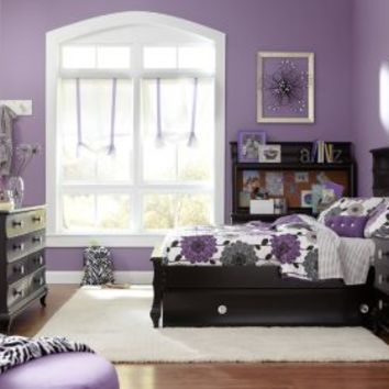 Milan Black 5 Pc Full Bedroom