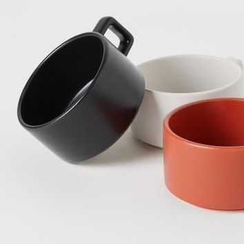 Stoneware Mug - Dark orange - Home All | H&M US