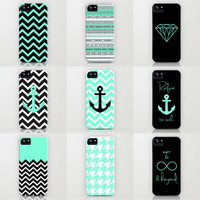 Tiffany Turquoise iPhone cases by RexLambo