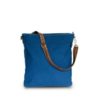 Crossbody Bag - Waxed Navy