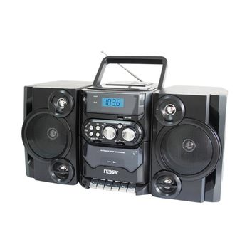 Naxa Portable MP3/CD Player W/ AM/FM Stereo Radio Cassette Player/Recorder