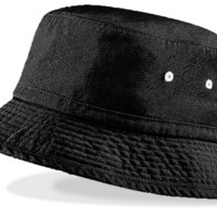 Simply Black Bucket Hat