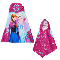 Disney Frozen Hooded Towel - Anna and Elsa