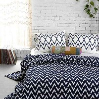 4040 Locust Ikat Arrow Duvet Cover-