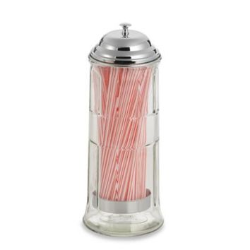 Straw Dispenser with Straws