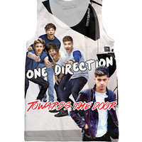One Direction Towards the Door Tank Top