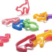 Animal Rubber Band Wide Set