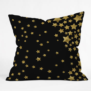 Lisa Argyropoulos Starry Magic Night Throw Pillow