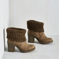 Get your Kicks Bootie by Dirty Laundry from ModCloth