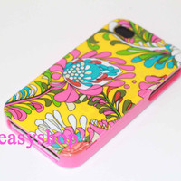 kate spade iphone 4/4s case - beautiful flowers pattern
