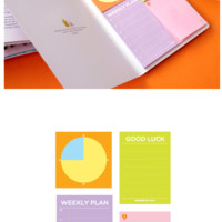 Schedule Sticky Notebook
