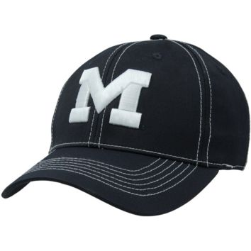 Top of the World Michigan Wolverines Endurance Tactile One-Fit Hat - Navy Blue
