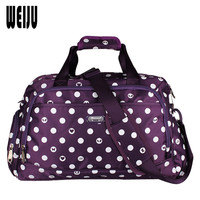 New Dot Women Travel Duffle Bag 2016 Fashion Large Capacity Women Travel Bags High-Quality Designer Brand Luggage Bag