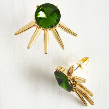 20s Deco Showtime Earrings by ModCloth