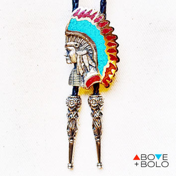 CHIEF RED CLOUD Bolo Tie
