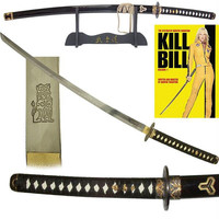 KILL BILL Katana Sword with Display Stand