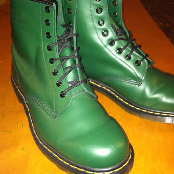 Dr. Martens 1408 Green Boot-Size 11