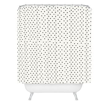 Allyson Johnson Tiny Polka Dots Shower Curtain