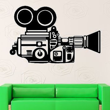 Wall Stickers Camera Operator Film Movie Cinema Vinyl Decal (ig2433)