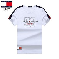 Tommy Hilfiger Casual Fashion Shirt Top Tee-3